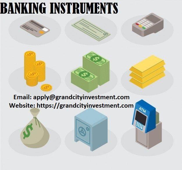 provedores de instrumentos bancários genuínos